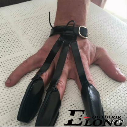 leather hand glove