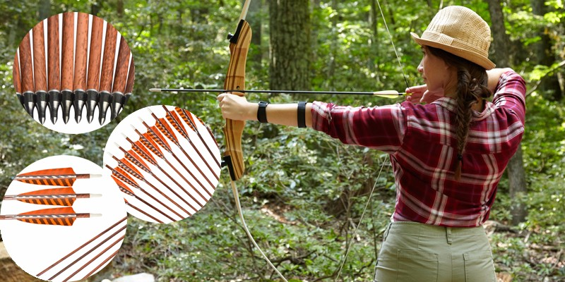 best carbon arrows with feather vanes