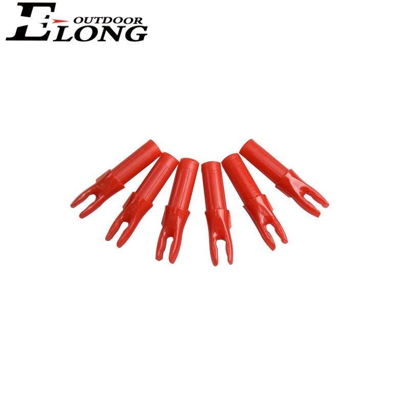 Various Colour Arrow Nocks Carbon Archery Insert Nocks for Outdoor Hunting & Sports