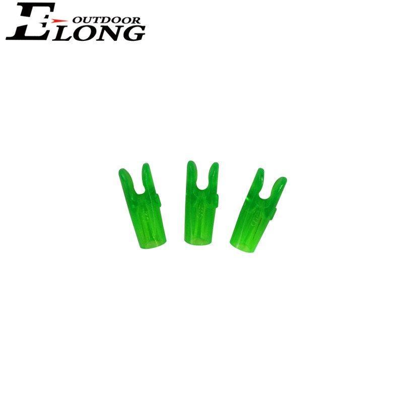 Transperant Pin Arrow Nocks for Archery Shooting / Carbon / Aluminum Arrow