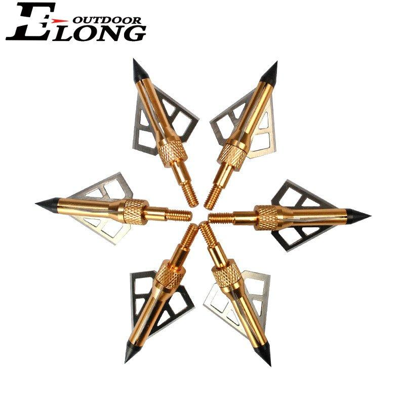 3 Sharp Blades Arrow Head Sharp Arrow Points Broadheads For Outdoor Hunting Archery