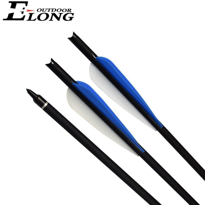 20 Inch Corssbow Bolt Fiberglass Bolt With Moon Nock For Archery Shooting Best Hunting Corssbow