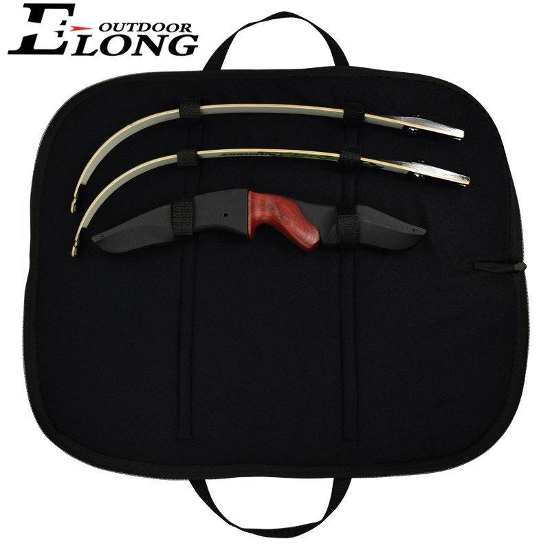 Archery Bow Bag Case Quivers Arrows Holder Bag For Recurve Bow Riser