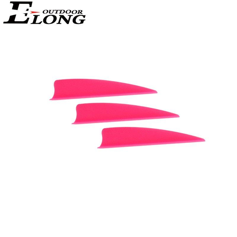Arrow Accessories 2 Inch Shield Vane TPU For Arrow N Bow Hunting Various Colors
