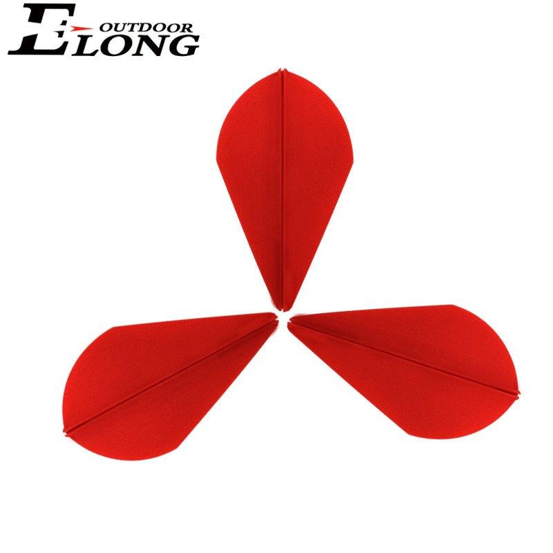 High Quality HP Material 2 inch TPU Vane For Hunting Carbon Arrow Or Crossbow Bolts Outdoor
