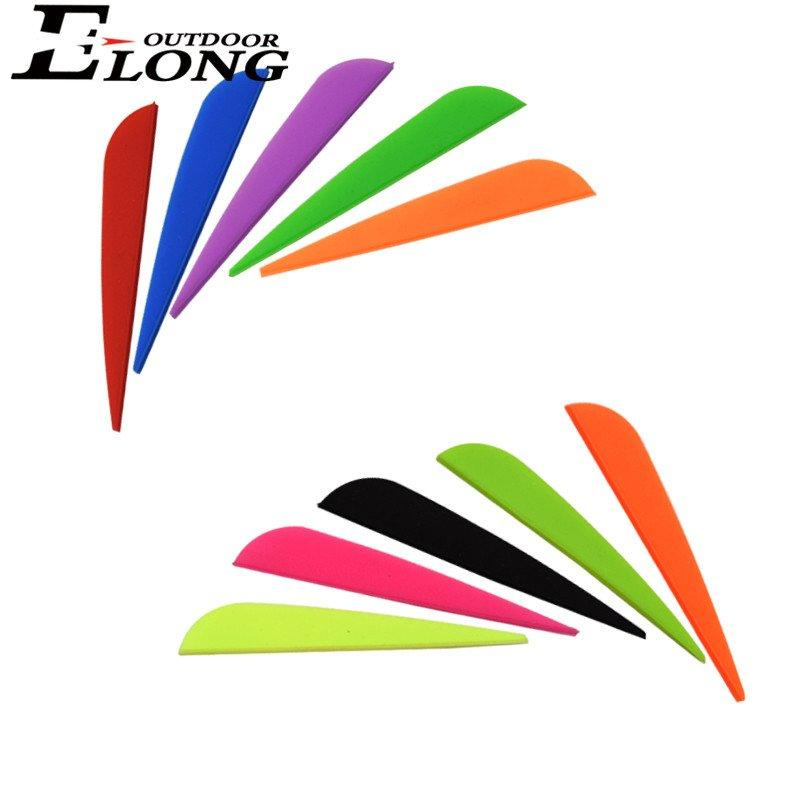 3 Inch Fletching Vane TPU For Archery n Bow Hunting Arrow Accessories