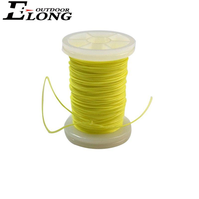 Cheaper 30 Meter/Roll 0.021 Inch Thickness Bow String Serving Thread For Recurve Bow