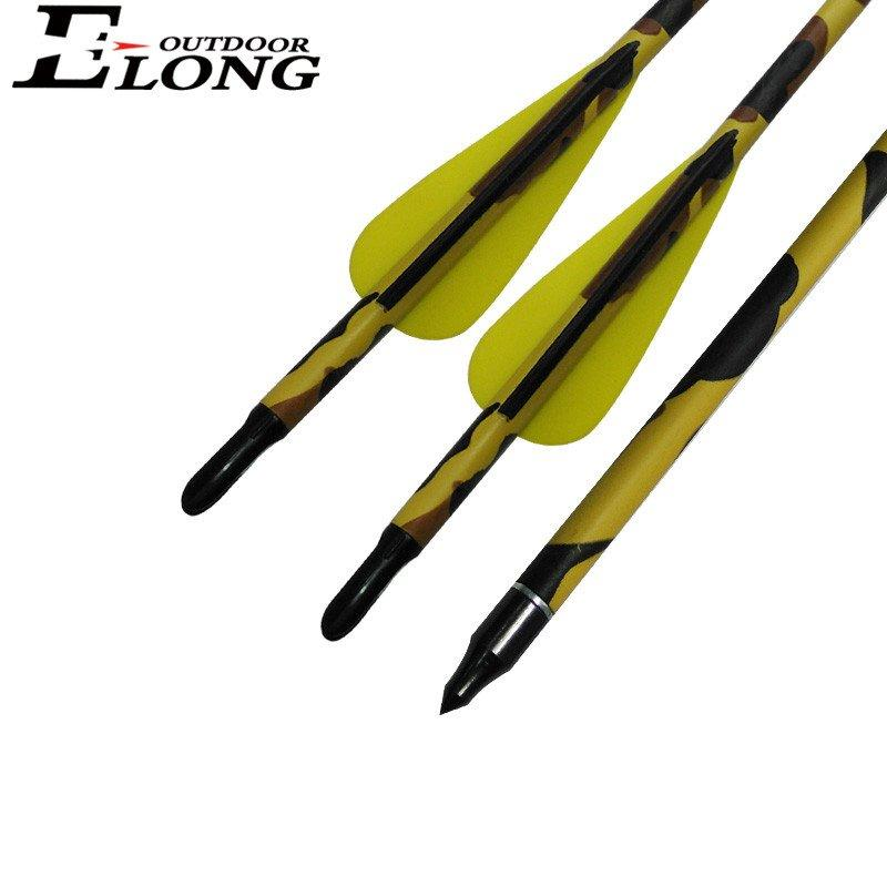 Best Quality 30 Inch SP340 Camo Pure Carbon Arrow For Shooting & Hunting