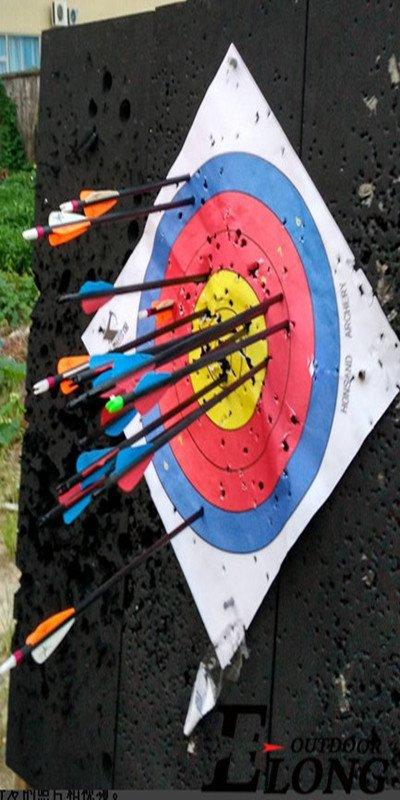 arrow target face