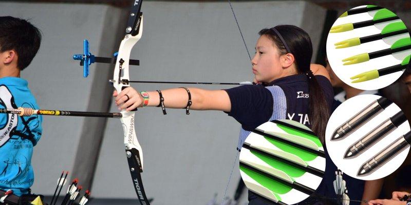 kids fiberglass arrow for recurve bow