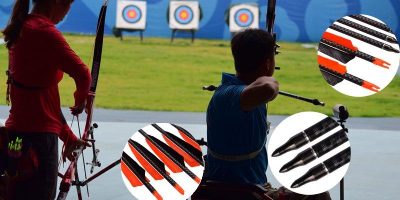 tranditional bow arrows