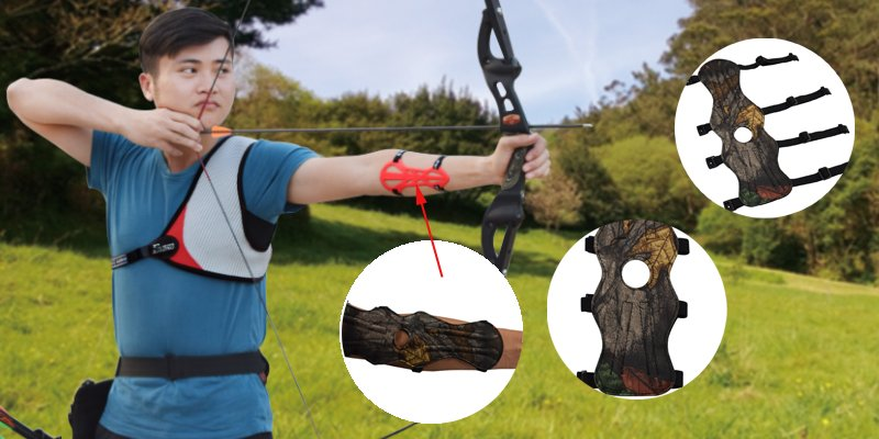 archery arm guard for shooting