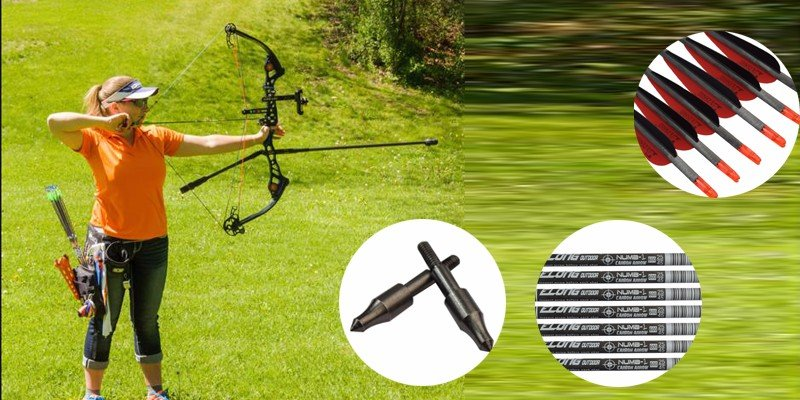 carbon arrows for compound bow