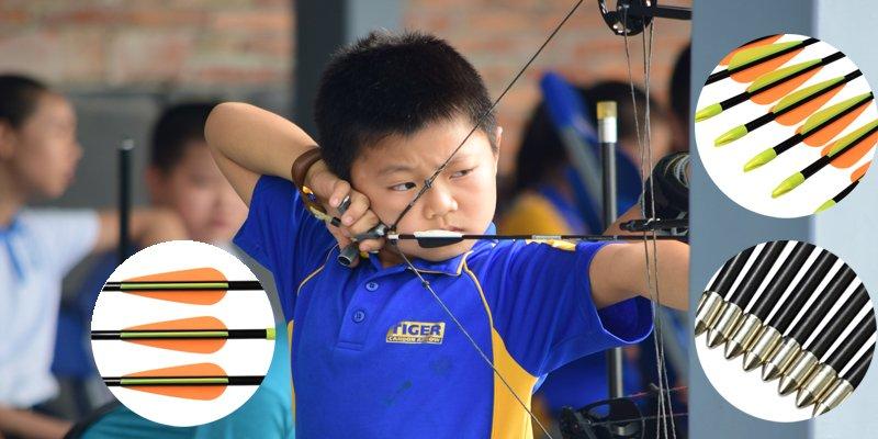 archery youth arrow and bow
