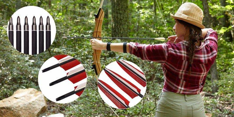 fiberglass bow and arrow
