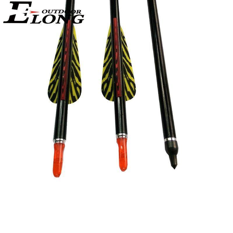 Archery Aluminum Arrows For Recurve Spine 310-1500 Wholesales Best Aluminum Hunting Arrows