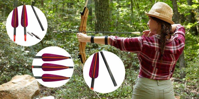 purple carbon arrows, carbon hunting arrows