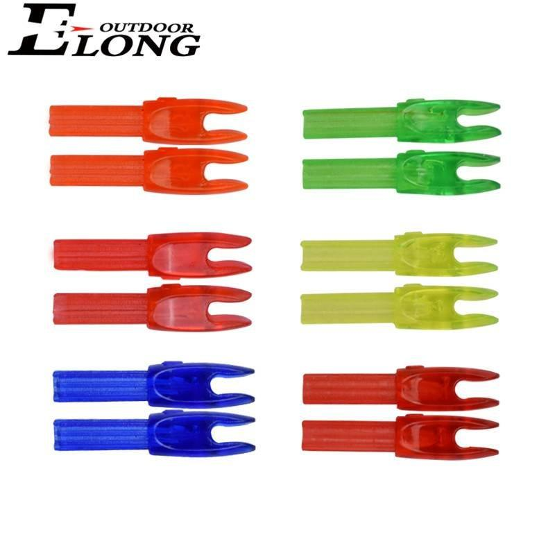 Colourful Arrow Nocks Insert Hunting Nocks for Carbon Arrow Outdoor Shooting