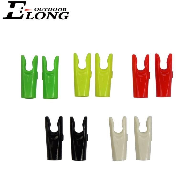 Various Colors Solid Arrow Nocks for Arrow Hunting Archery Bow Outdoor