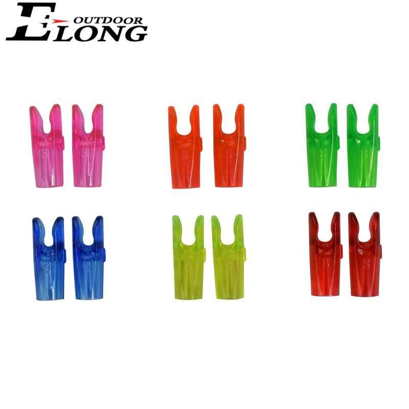 Transperant Pin Arrow Nocks for Archery Shooting / Carbon / Aluminum Arrow