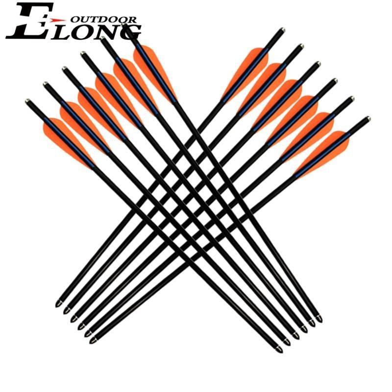 20 Inch Crossbow Arrows Elong Fiberglass Crossbow Bolts Arrow For Youth Crossbow Arrows And Broadheads
