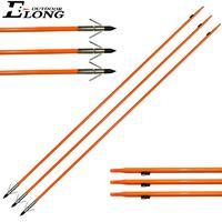 Solid Fiberglass Archery Arrow for Ourdoor Hunting & Fishing