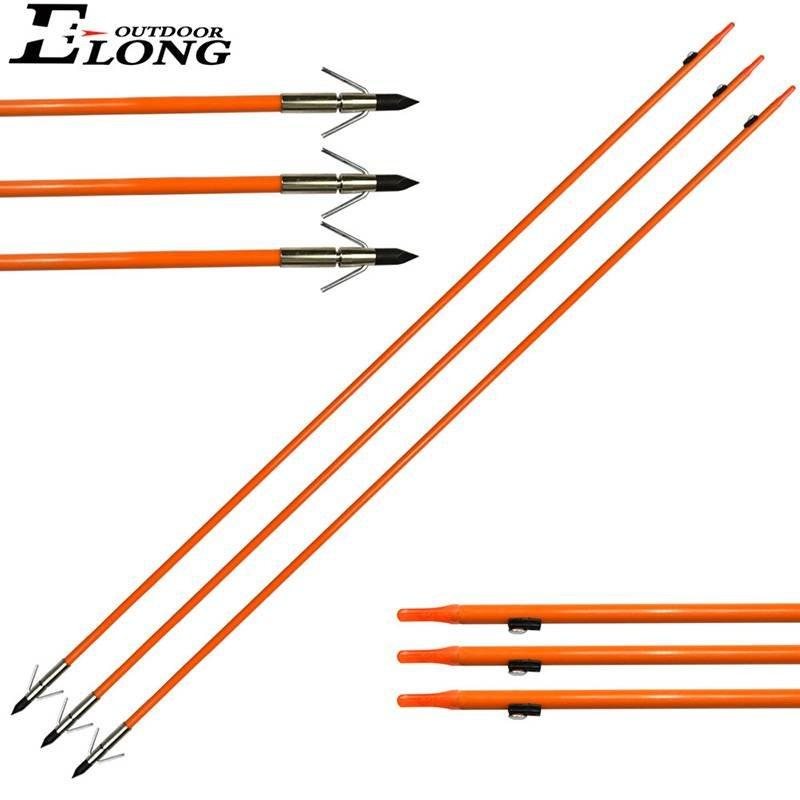 Solid Fiberglass Archery Arrow for Ourdoor Hunting & Fishing