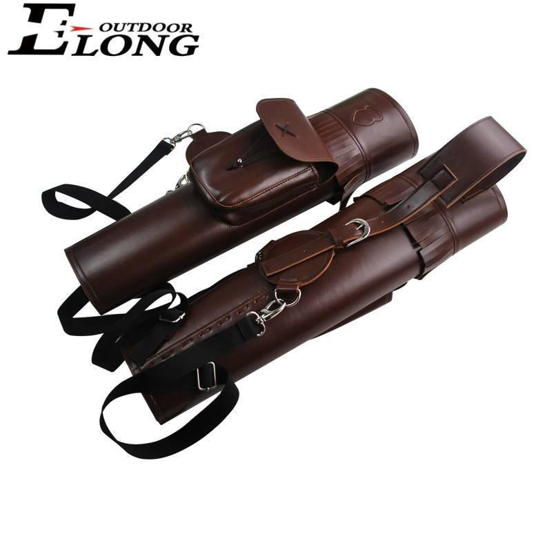 Pu Shoulder Arrow Quiver for Archery Hunting Outdoor