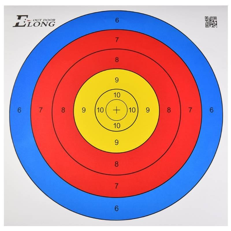 43*43cm Target Shooting Paper Arrow Target Face for Archery Practice