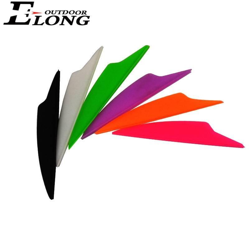2.5 Inch Dolphin Vane For Fletching Arrow n Bow Hunting Archery Accessories