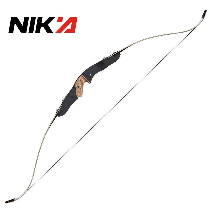 Archery Recurve Bow Nika S2 Laminated Limbs Right Hand ILF Recurve Bow