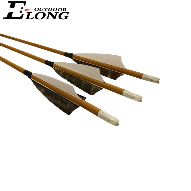 wood camo hunting arrow