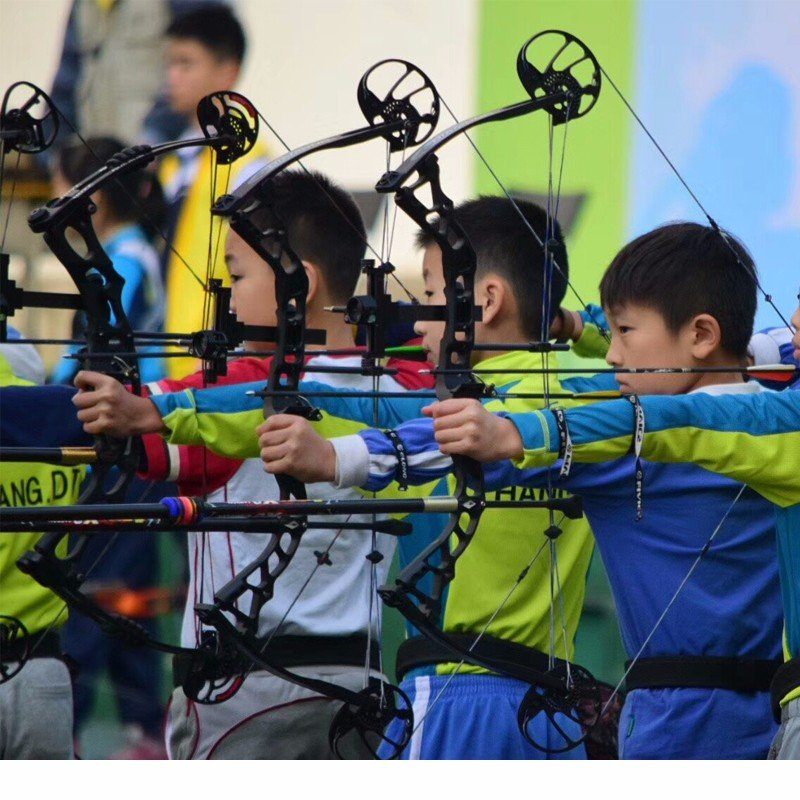 youth compound bow and arrow