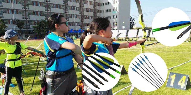 Elongcarbon target arrows