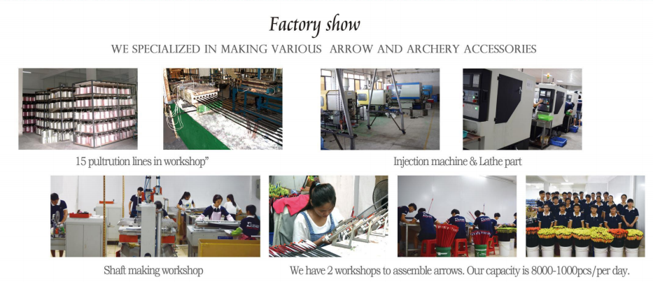 archery manufacturer, arrow supplier in China