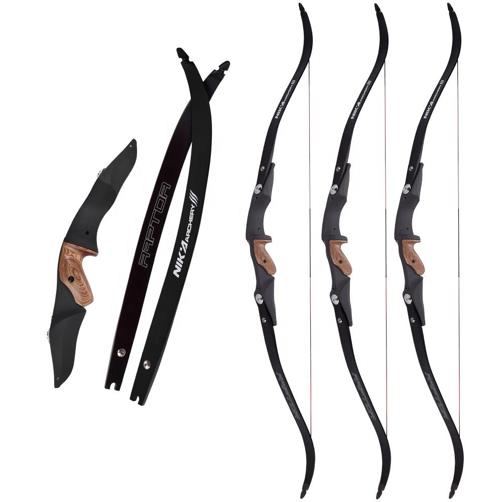 ELong New Product Archery For Right Hand ET-1 S Riser With Raptor Limbs Archery Recurve Bow