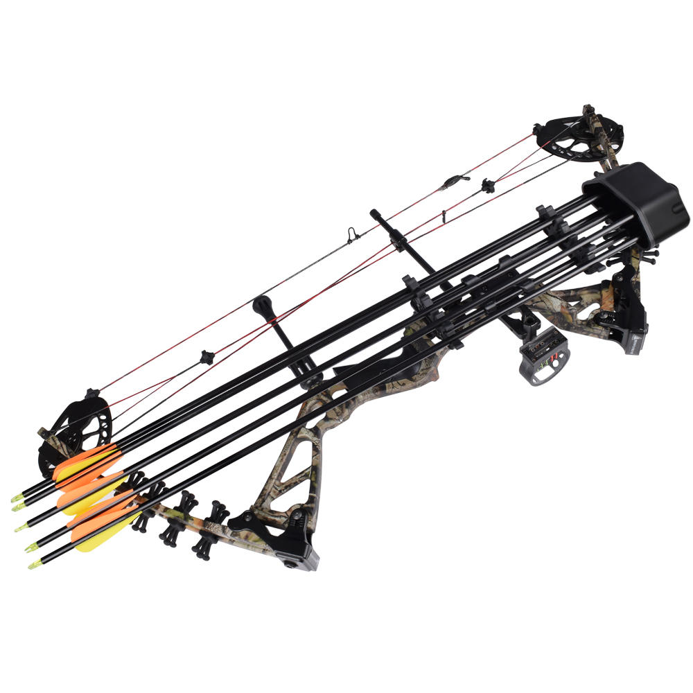 5pcs Arrow Simple Quiver For Crossbow, Recurve Bow And Compound Bow