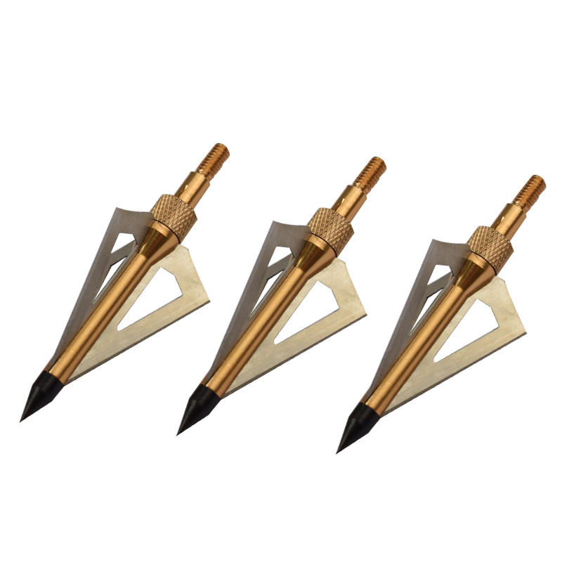Wholesale 100 grain Broad Head Carbon Aluminum Arrow Hunting For Archery Bow