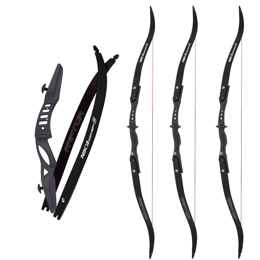 17 inch ET-3 Magnesium Riser with Raptor Limb Archery Bow Recurve Bow