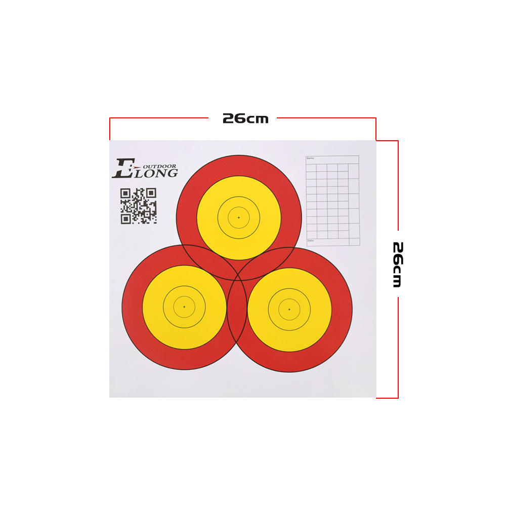 Cheap China Factory Archery Target Paper For Archery Arrow Target Shooting