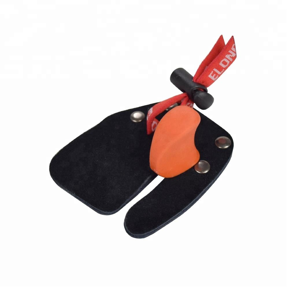 Factory Archery Shooting Adult Children Hand Protector Finger Tab