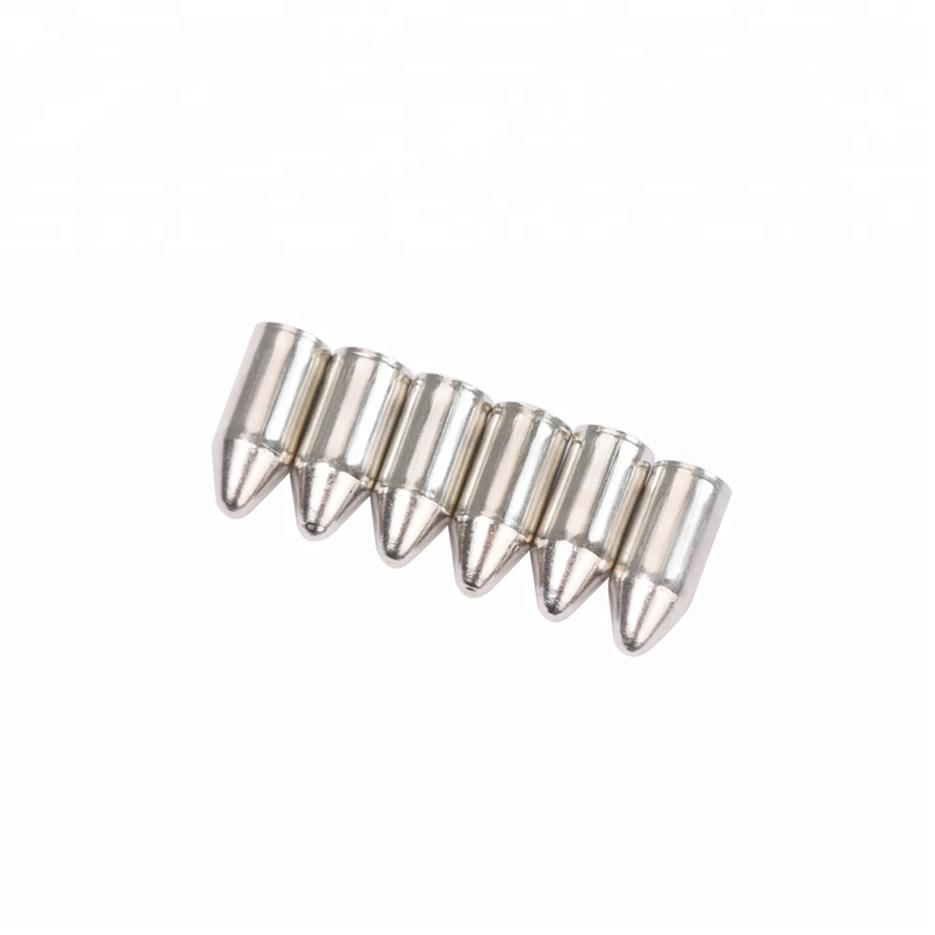 6875 Steel Glue-on Point Fiber Glass Arrow Head Archery Bow Bullet Point