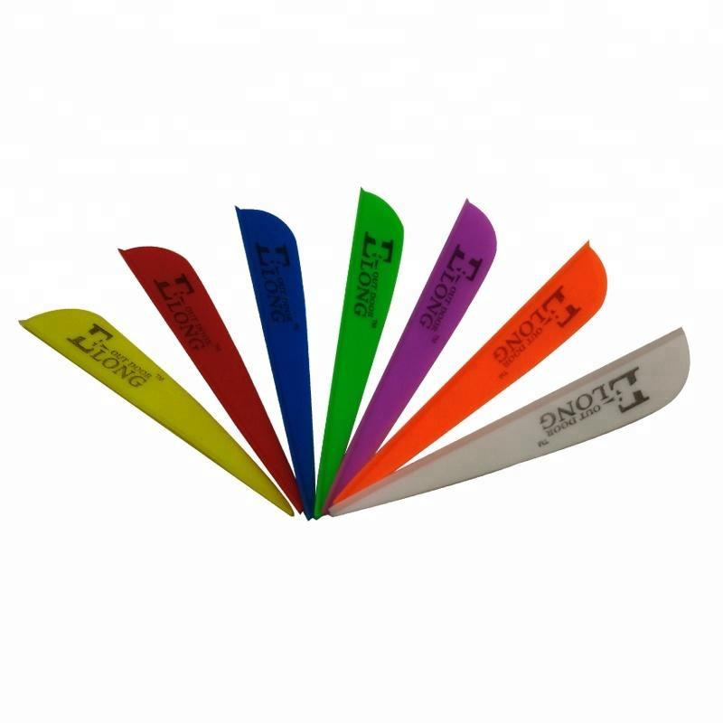 Wholesale Universal Fitting Plastic Fletching Archery DIY Vanes