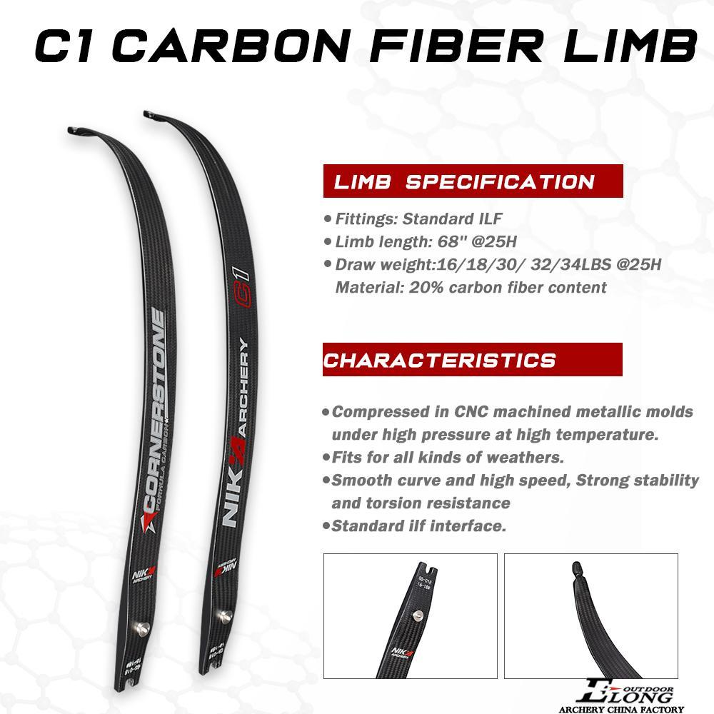 Nika Cornerstone Carbon Fiber Limb Beginner Shooting