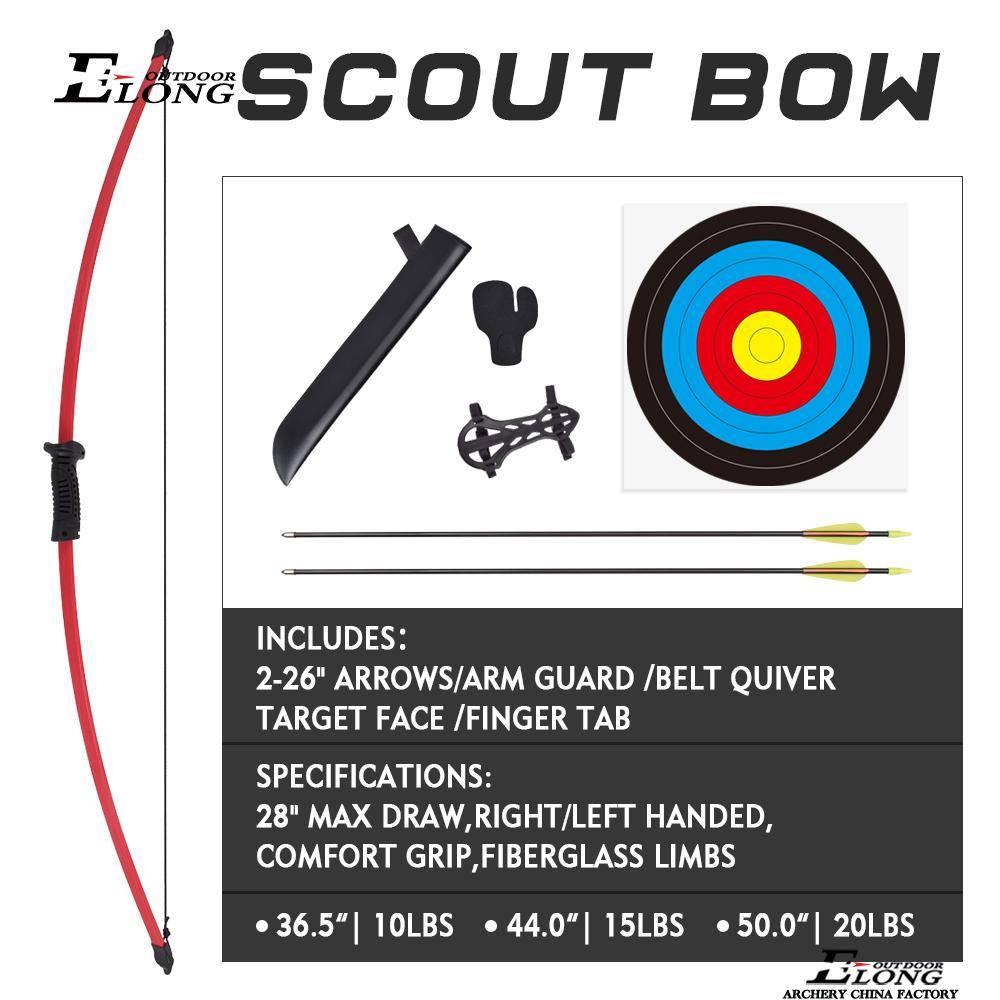 Nika Archery Scout Children Bow Set