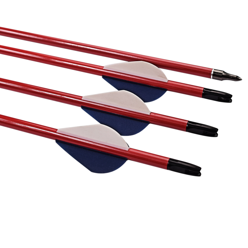 Archery Recurve Bow Outdoor Shooting ID 6.2 mm Carbon Arrow Shaft Steel Point Pure Carbon Arrows