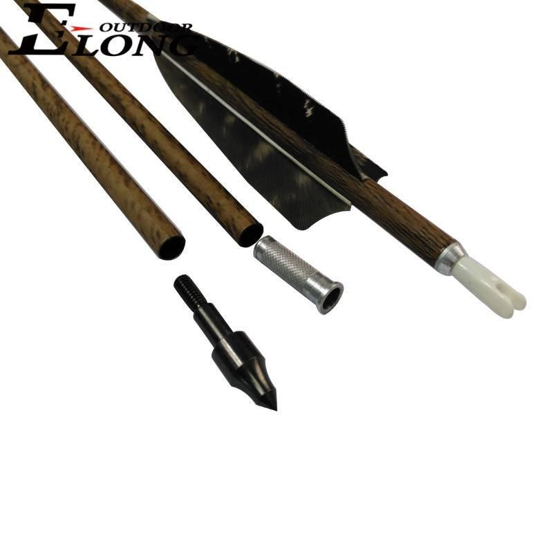 Arrow Fletching Carbon Arrow Spine 340 Carbon Arrow With Changeable Point For Traditional Bow